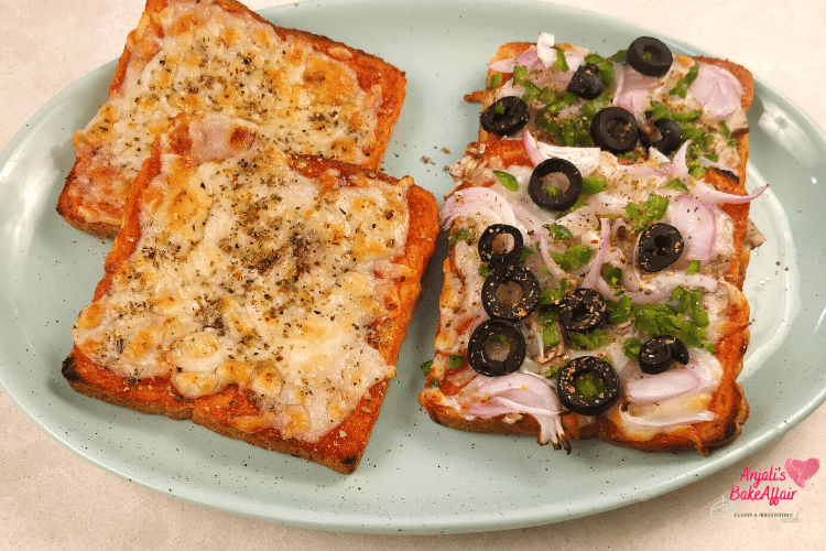 Bread Pizza 2 Ways: Quick and Yummy Snack