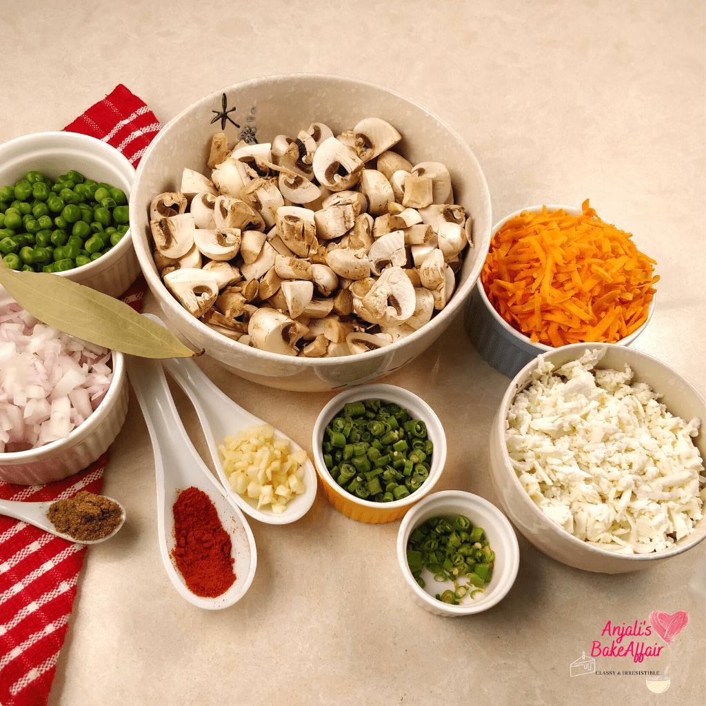 veg shepherd's pie ingredients