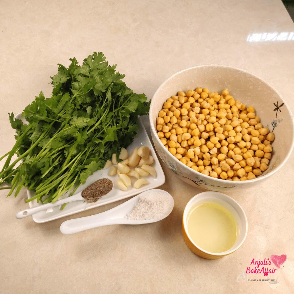 falafel ingredients falafel recipe