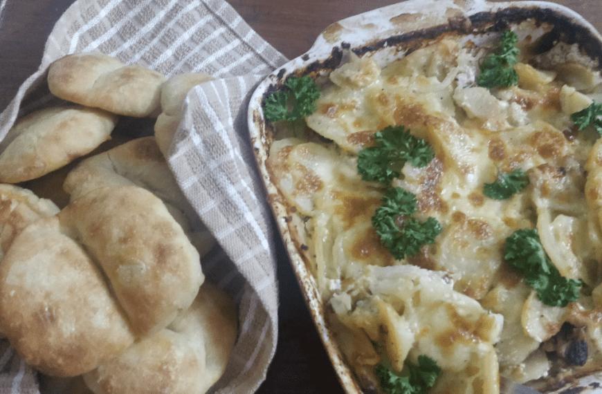 Baked Potatoes | Potato Gratin