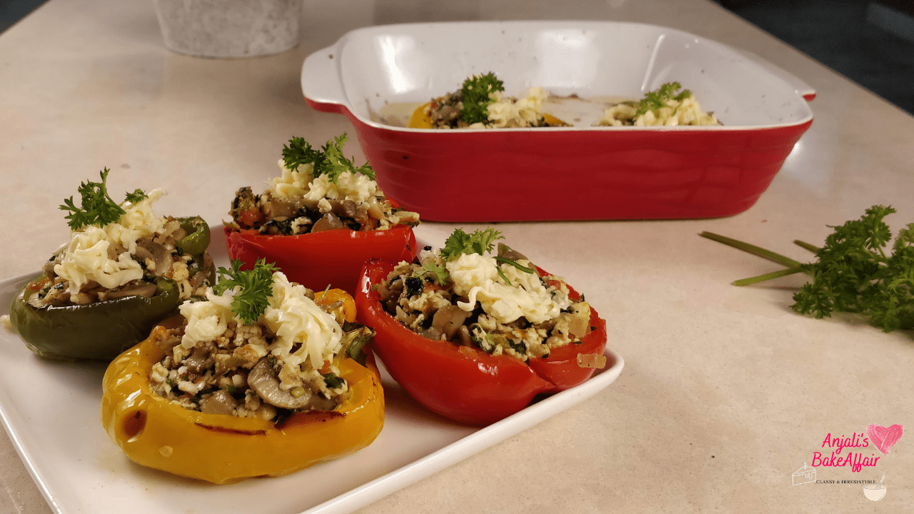 Stuffed Baked Bell Peppers