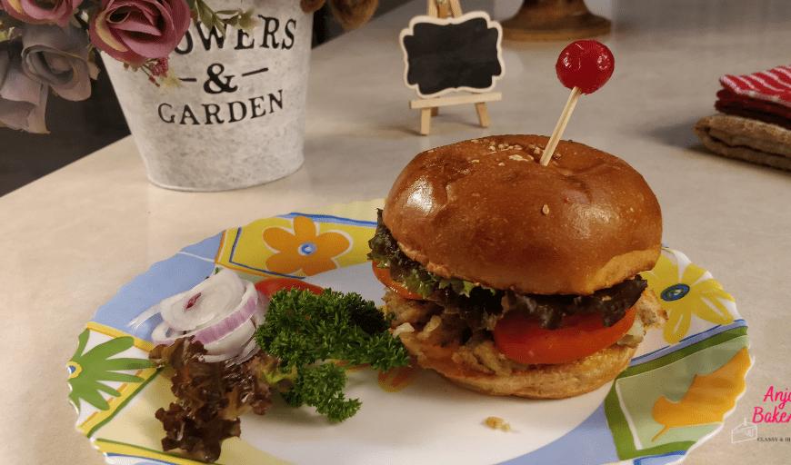 Street Style Veg Burger
