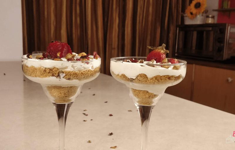 Thandai Cheesecake