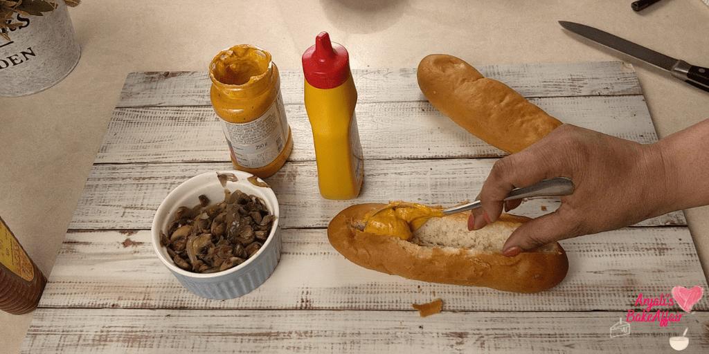 hot dog buns veg hot dogs
