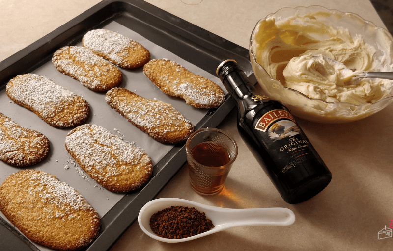 Ladyfinger Cookies for Tiramisu