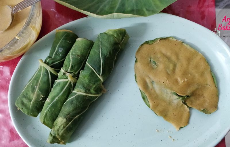 Calocasia Leaves Fritters